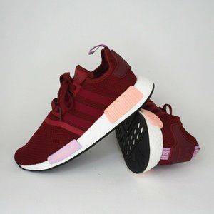 Adidas NMD_R1 W Women's Shoes Running Red Purple